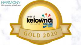 Best Chiropractor in Kelowna Award